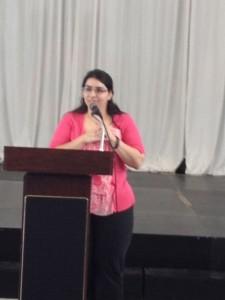 Linda Perez Lara Talking about Forensics
