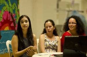 Sofia Delgado, Noraida Martínez and Mayra Sánchez represented Puerto Rico and AAUW San Juan at the NCCWSL Last June.
