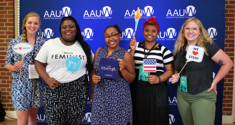 NCCWSL 2018 Students With Props